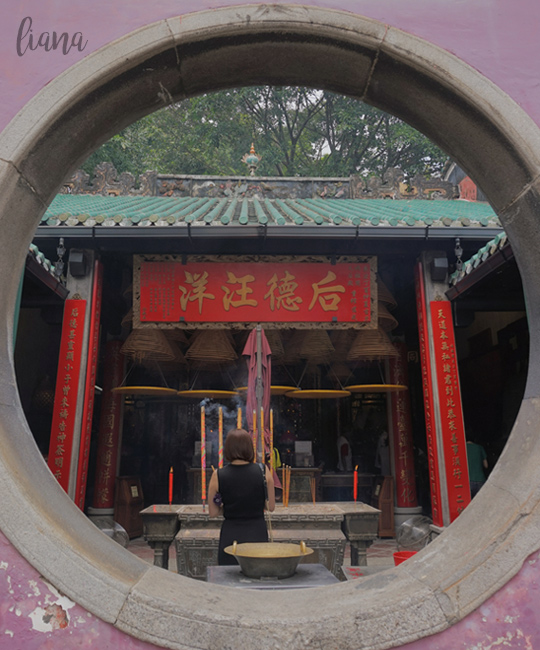 jalan jalan ke Macau, A-Ma Temple