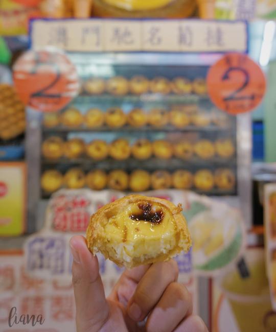 jalan jalan ke Macau, Egg Tart Macau