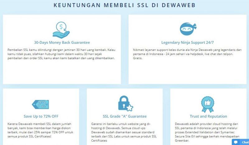 web security Dewaweb