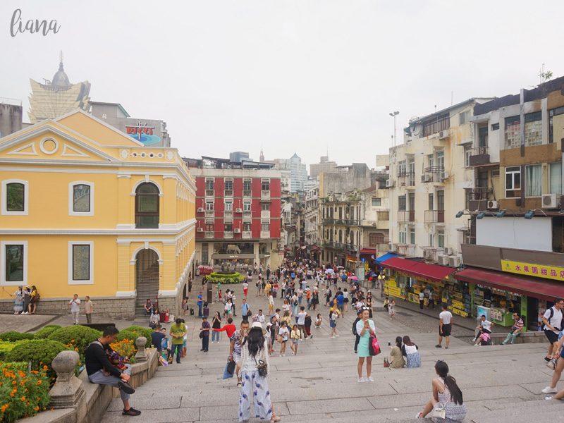 jalan jalan ke Macau, Ruins of St Paul's