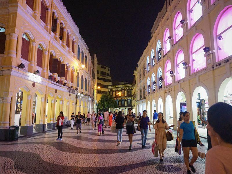 jalan jalan ke Macau, Senado Square