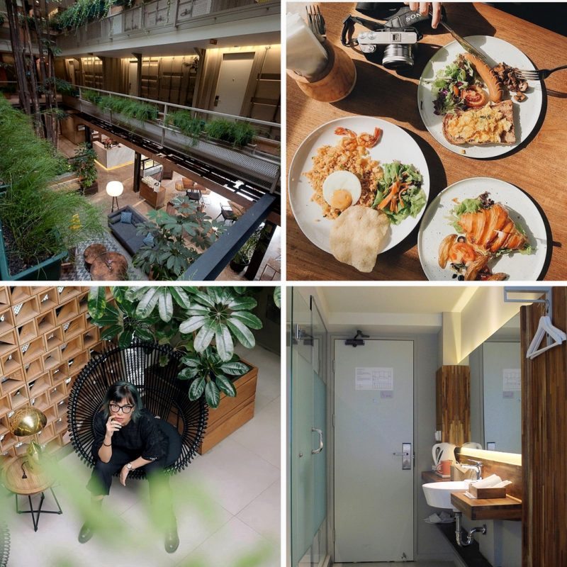 Kollektiv Hotel, hotel instagramable di Bandung