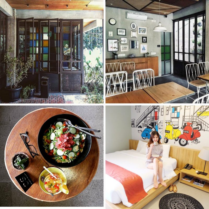 Triple Seven Bed & Breakfast, hotel instagramable di Bandung
